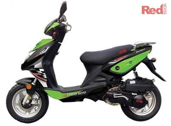 2012 XTM (Xtreme Moto) Kwik 50